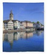 Zurich Fleece Blanket