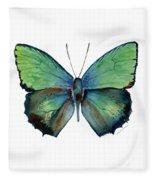 52 Arhopala Aurea Butterfly Fleece Blanket