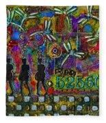 525 600 Minutes - Color Fleece Blanket