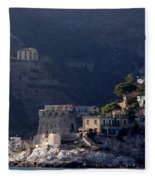 Views From The Amalfi Coast In Italy Fleece Blanket