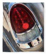 55 Bel Air Tail Light-8184 Fleece Blanket