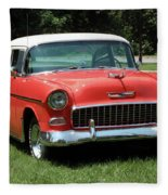 55 Chevy Fleece Blanket