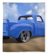 56 Studebaker Truck Fleece Blanket