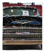 '57 Chevy Bel Air Show Car Fleece Blanket