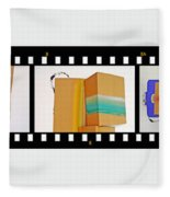 57 Contact Strip Fleece Blanket