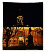 5am At Port Hope Town Hall Fleece Blanket
