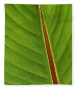 Banana Leaf Fleece Blanket