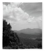 Blue Ridge Mountains - Virginia Bw 3 Fleece Blanket