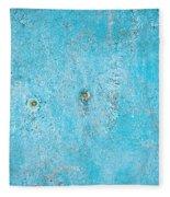Blue Wood Fleece Blanket