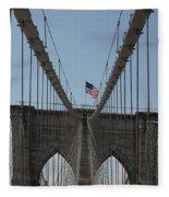 Brooklyn Bridge Fleece Blanket