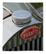 Bugatti Type 57 Fleece Blanket