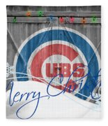Chicago Cubs Fleece Blanket