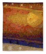 Christmas Background Fleece Blanket