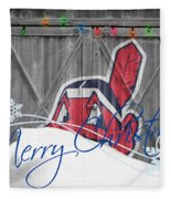 Cleveland Indians Fleece Blanket