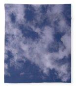 Clouds In The Sky Fleece Blanket