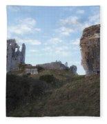 Corfe Castle Fleece Blanket