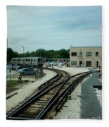 Cta's Retired 2200-series Railcar Fleece Blanket