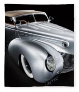 Custom Ford Coupe Fleece Blanket