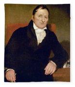 Eli Whitney (1765-1825) Fleece Blanket