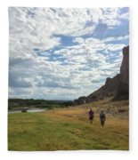 Exploring Big Bend National Park Fleece Blanket