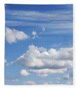 Fluffy Clouds Fleece Blanket