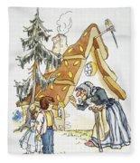 Grimm: Hansel And Gretel Fleece Blanket