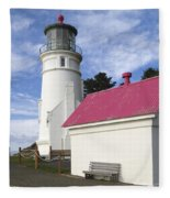 Heceta Head Lighthouse Fleece Blanket