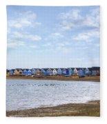 Hengistbury Head - England Fleece Blanket