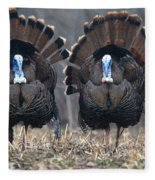 Jake Eastern Wild Turkeys Fleece Blanket