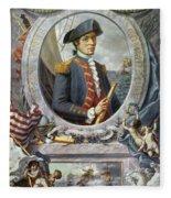 John Paul Jones (1747-1792) Fleece Blanket
