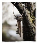 Keys Fleece Blanket