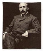 Leonard Wood (1860-1927) Fleece Blanket