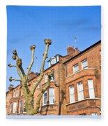 London Architecture Fleece Blanket