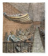 London: Debtors Prison Fleece Blanket