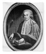 Luigi Galvani (1737-1798) Fleece Blanket