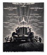 Mercedes - Benz Fleece Blanket