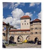 Munich Germany Fleece Blanket