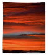 Nevada Skies Fleece Blanket