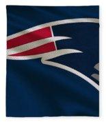 New England Patriots Uniform Fleece Blanket
