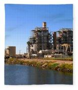 Power Station Fleece Blanket