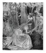 Queen Victoria (1819-1901) Fleece Blanket