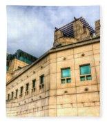 Secret Service Building London Fleece Blanket
