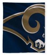 St Louis Rams Uniform Fleece Blanket