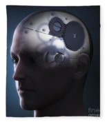 Thought Mechanism Fleece Blanket