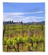 Tuscany - Montalcino Fleece Blanket
