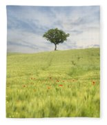 Tuscany - Val D'orcia Fleece Blanket
