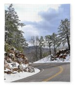 Route 60 Virginia Fleece Blanket