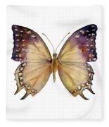 63 Great Nawab Butterfly Fleece Blanket
