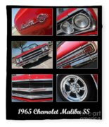 65 Malibu Ss Poster Fleece Blanket