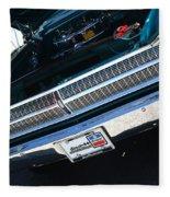 65 Plymouth Satellite Grill-8481 Fleece Blanket